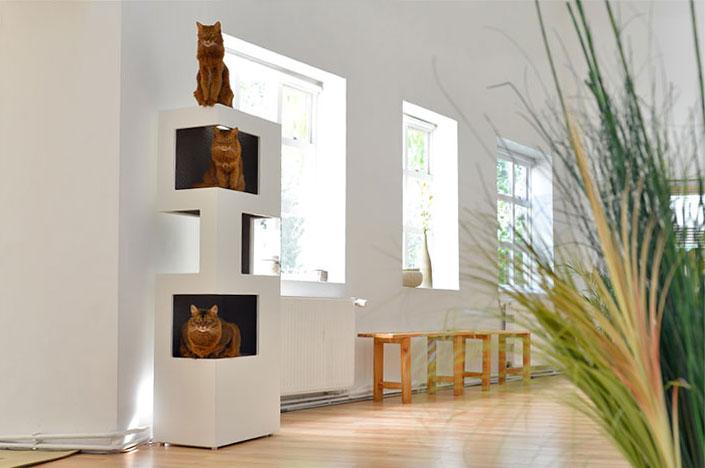 designer katzenm bel und zubeh r designs2love. Black Bedroom Furniture Sets. Home Design Ideas