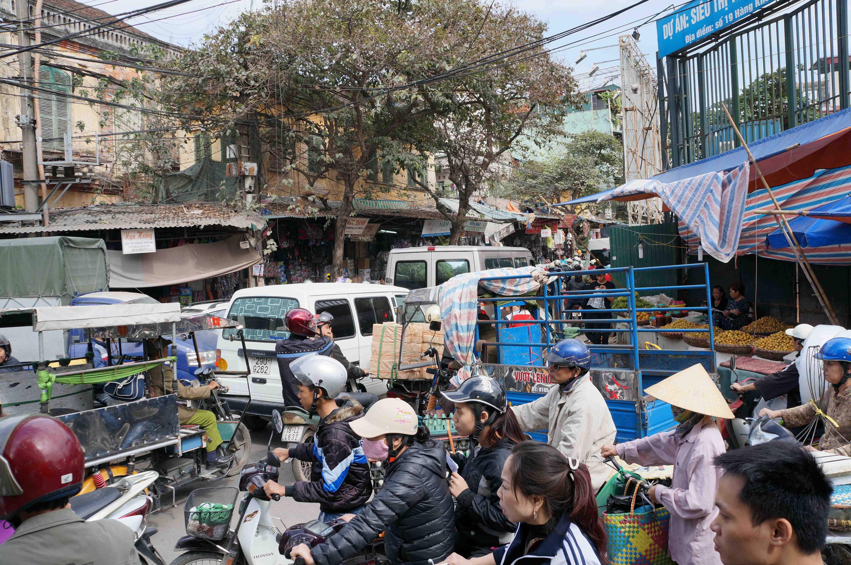 Hanoi Strassenchaos