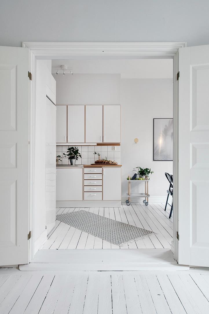 Design Inspiration Kleine Wohnung In Wei Grau T Nen