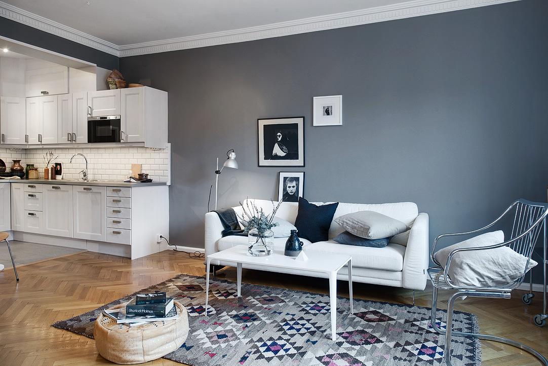 Wandfarbe Dunkel wohninspiration wohnung mit dunklen wandfarben designs2love