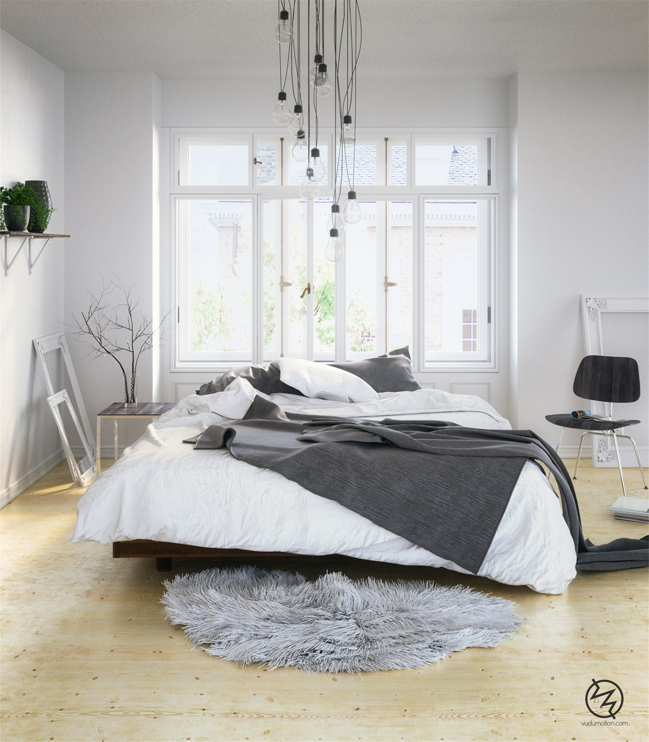 Skandinavisches Schlafzimmer Inspiration Designs2love