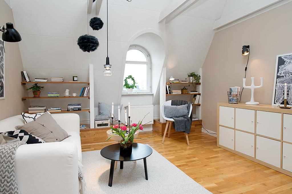 Wohnzimmer  Nordisch, hell und gemütlich  Designs2lo