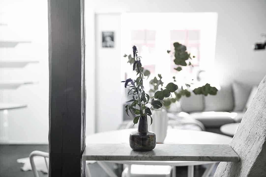Maisonette Wohnung nordisch modern