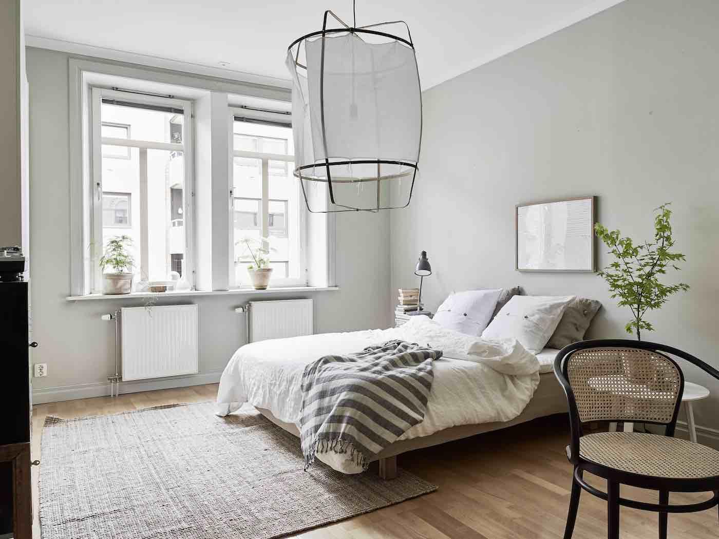 Schwedische Wohnung mit grünen Akzenten  Designs2love