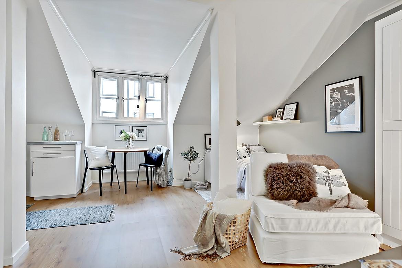 Elegant Küche Für 1 Zimmer Wohnung