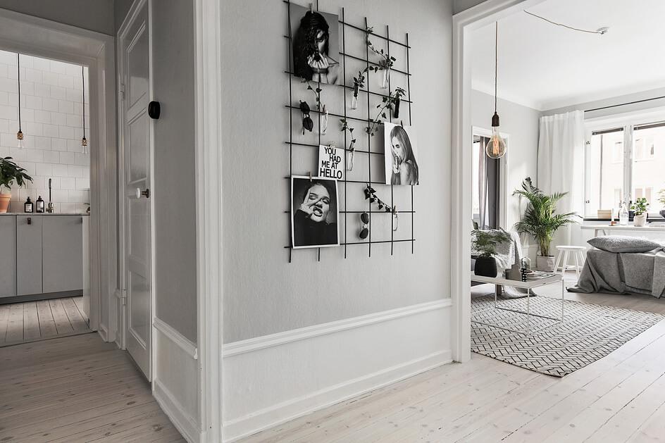 Moderne-Wandgestaltung-Pinnwand