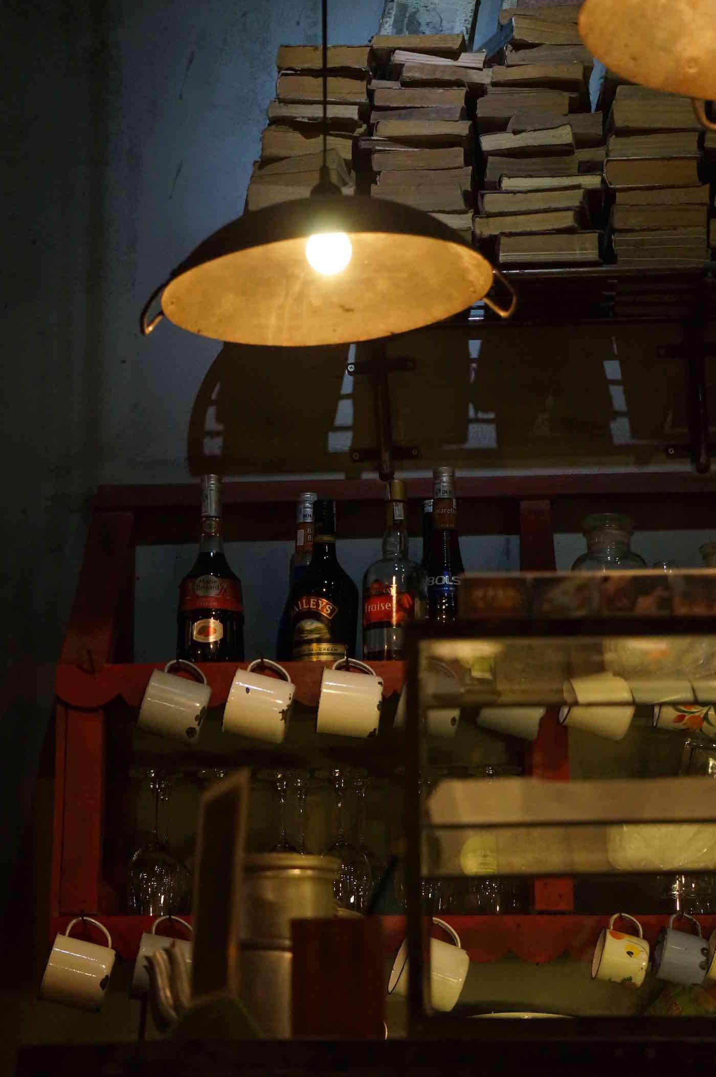 Selbstgemachte-Lampe-Wok