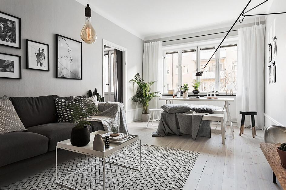 Einrichtungsideen wohnzimmer modern weiß  Grau ist das neue Weiß - Wohninspiration - Designs2love