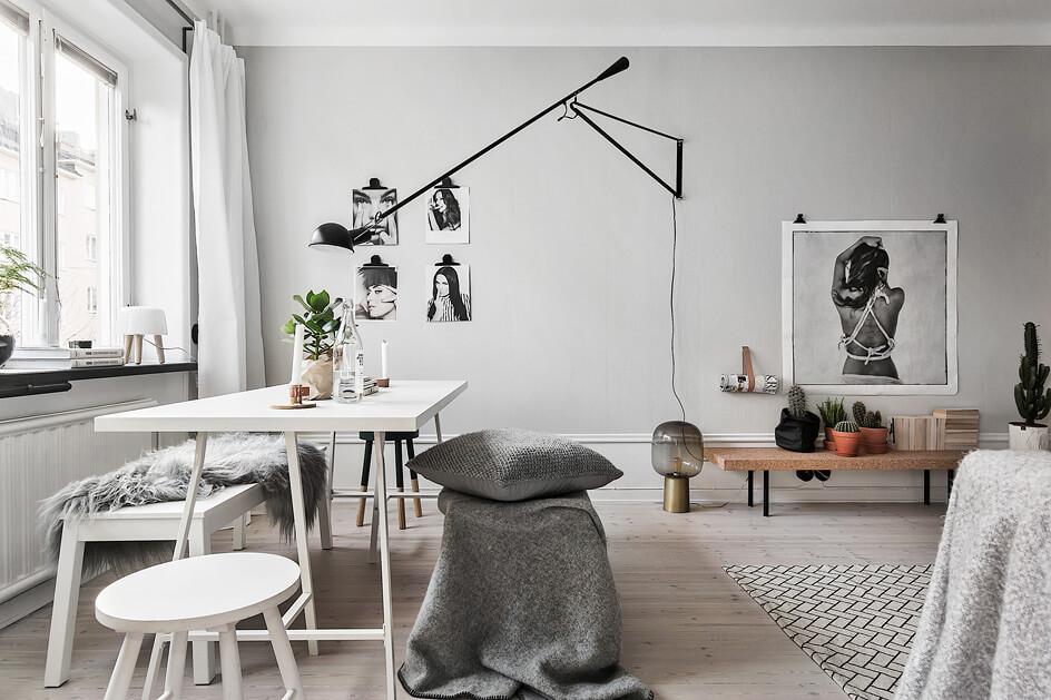 Wohnzimmer Einrichtungsideen Grau Modern2