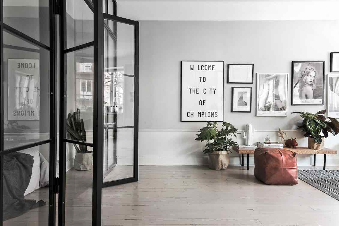 Wandbilder-Loft-Sideboard