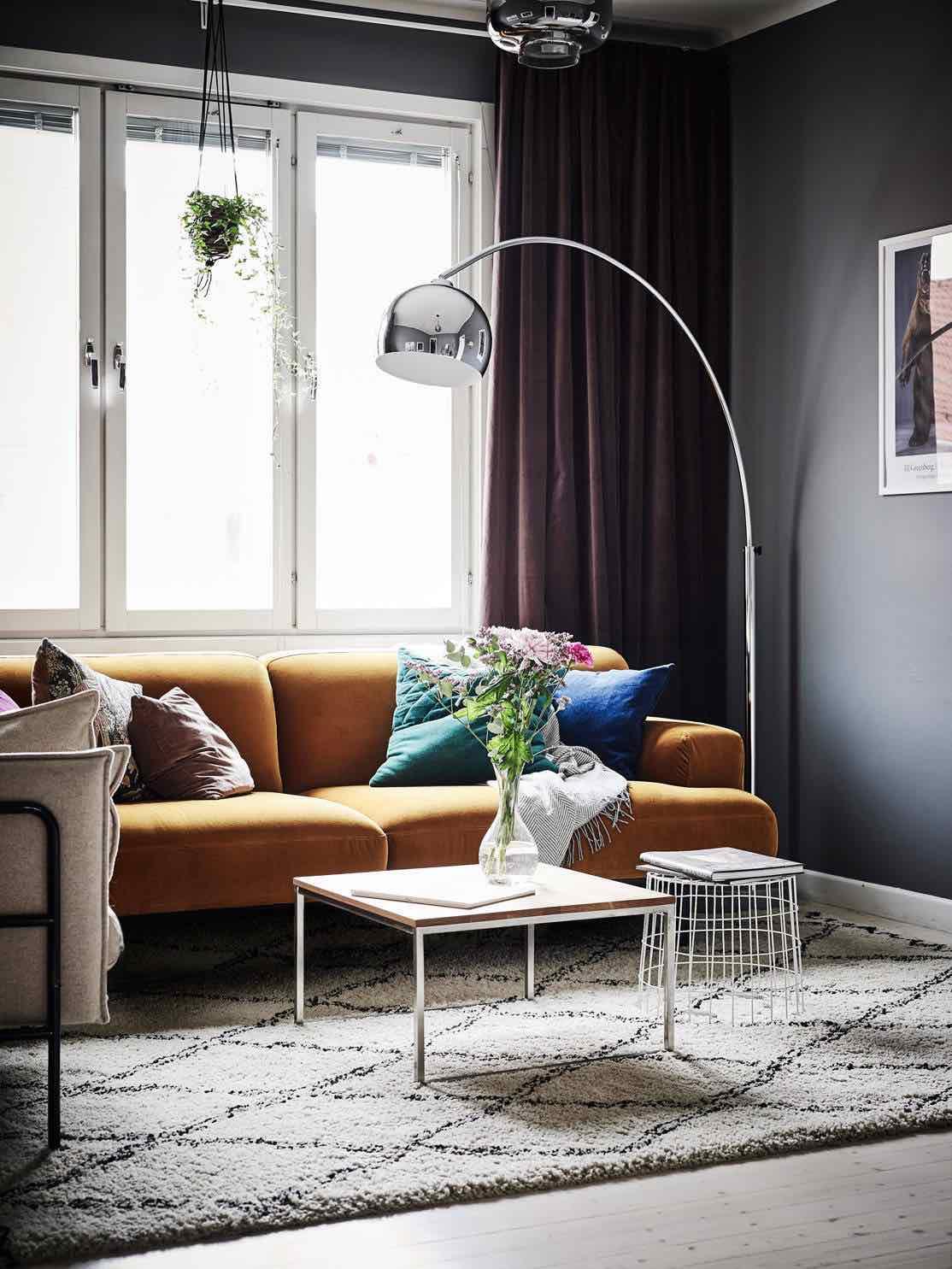 wohnzimmer stehlampe designmöbel