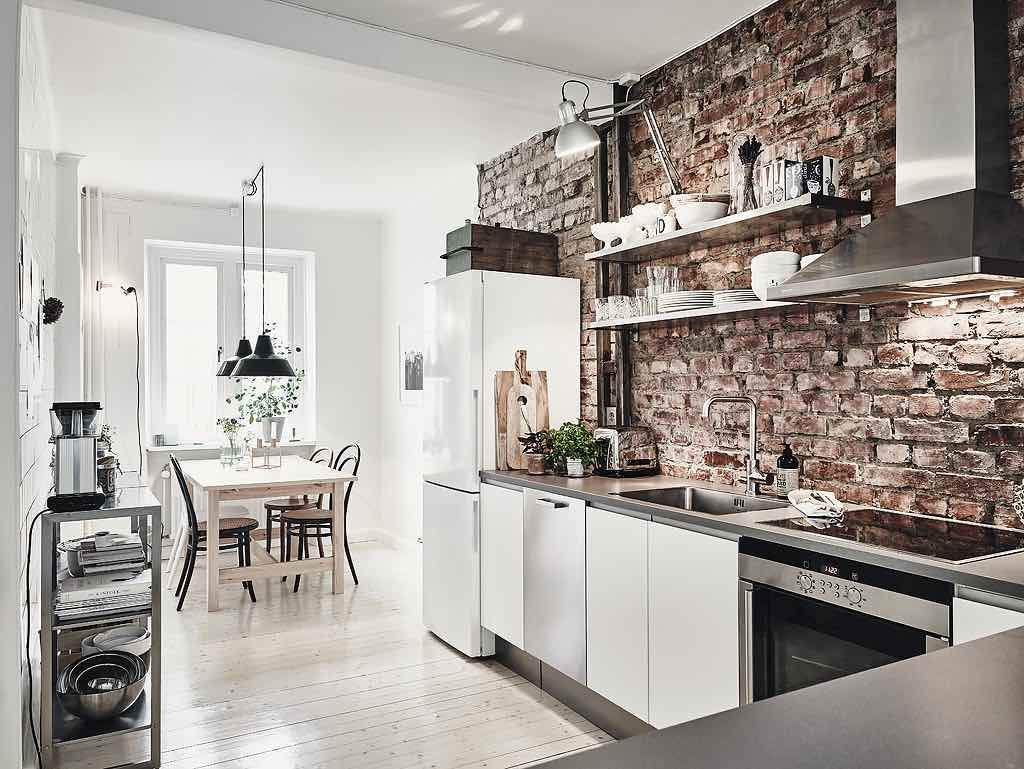 Fabulous Weekend-Inspiration: Moderne Wohnung mit rustikalen Elementen RO72